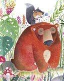 Forest Pals II Art Print