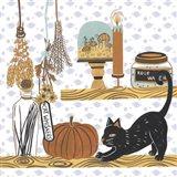Halloween Prep IV Art Print