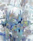 Edgy Blues I Art Print