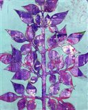 Purple Planta II Art Print