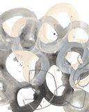 Tangled Circuit I Art Print