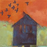 Bird Barn II Art Print