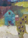 Cloverton Barn Art Print