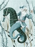 The Sea Santa II Art Print