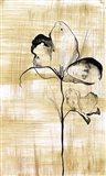 Gilded Beauty I Art Print
