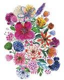 Free Floral I Art Print
