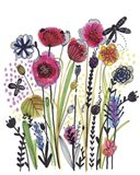 Free Floral II Art Print