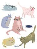 Cat Squad II Art Print