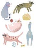 Cat Squad III Art Print