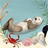 Otter's Paradise I Art Print