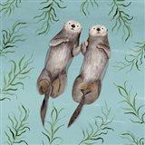 Otter's Paradise III Art Print