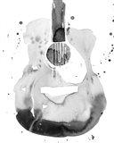 Guitar Flow II Art Print