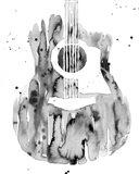 Guitar Flow III Art Print