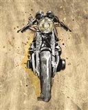 Metallic Rider I Art Print