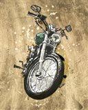 Metallic Rider II Art Print