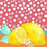 Lemon Inspiration I Art Print
