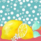 Lemon Inspiration II Art Print