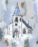 Cerulean Spire II Art Print