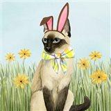 Easter Cats II Art Print