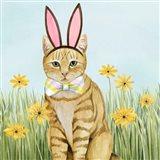 Easter Cats IV Art Print
