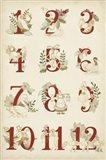 The Twelve Days Art Print