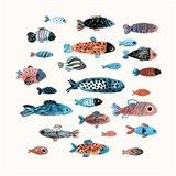 Fish School I Art Print