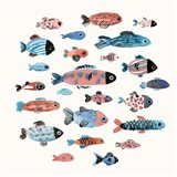 Fish School II Art Print