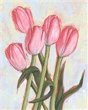 Peppy Tulip I Art Print