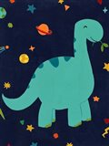 Starry Dinos IV Art Print