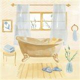 Golden Bath II Art Print