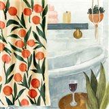 Bath Retreat I Art Print
