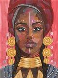 Ornament Empress I Art Print