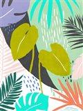Jazzy Jungle I Art Print