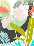 Jazzy Jungle II Art Print