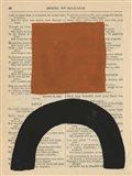 Modern Prose IX Art Print