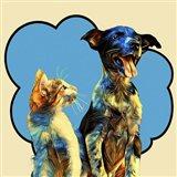 Pop Dog IX Art Print