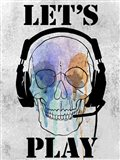 Skull Games I Art Print