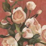 Rose Tangle I Art Print