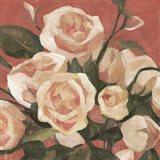 Rose Tangle II Art Print