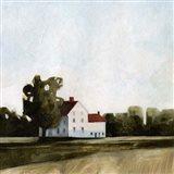 Quiet Farmhouse I Art Print