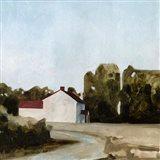 Quiet Farmhouse II Art Print