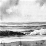 High Tide Sketch I Art Print