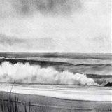 High Tide Sketch II Art Print
