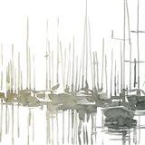 Early Morning Wharf I Art Print