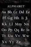 Alphabet Chart Art Print