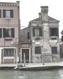 Venetian Facade Photos V Art Print