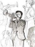 Jazz Sketchbook II Art Print
