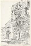 European Building Sketch III Art Print