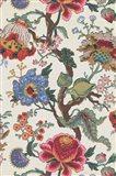 Vintage Jacobean Floral I Art Print