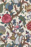 Vintage Jacobean Floral II Art Print
